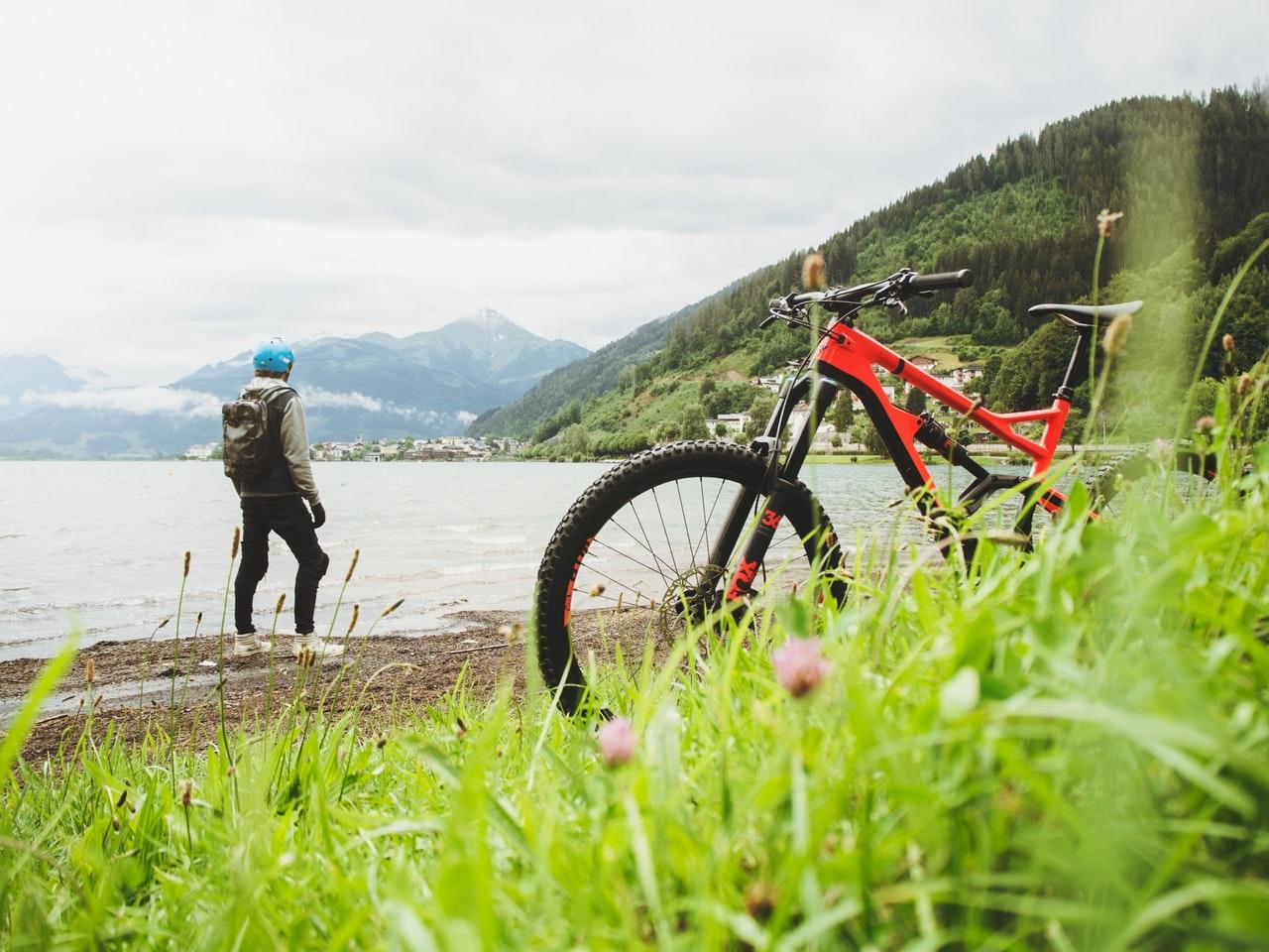 Biking-During-Active-Vacation